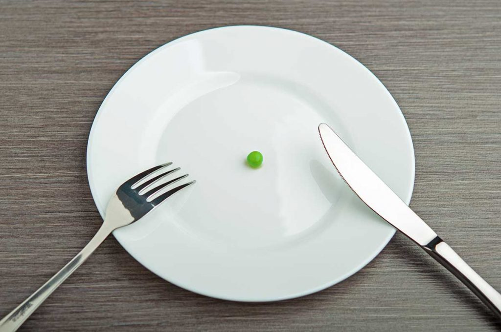 رژیم غذایی نامناسب: