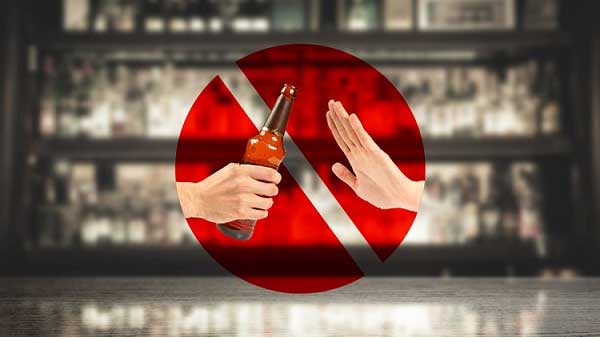 اجتناب از مصرف الکل