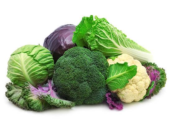 رژیم غذایی کبد چرب گرید ۲: انواع کلم