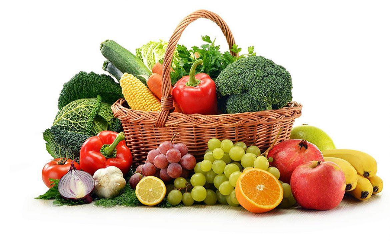 استفاده از میوه و سبزیجات تازه