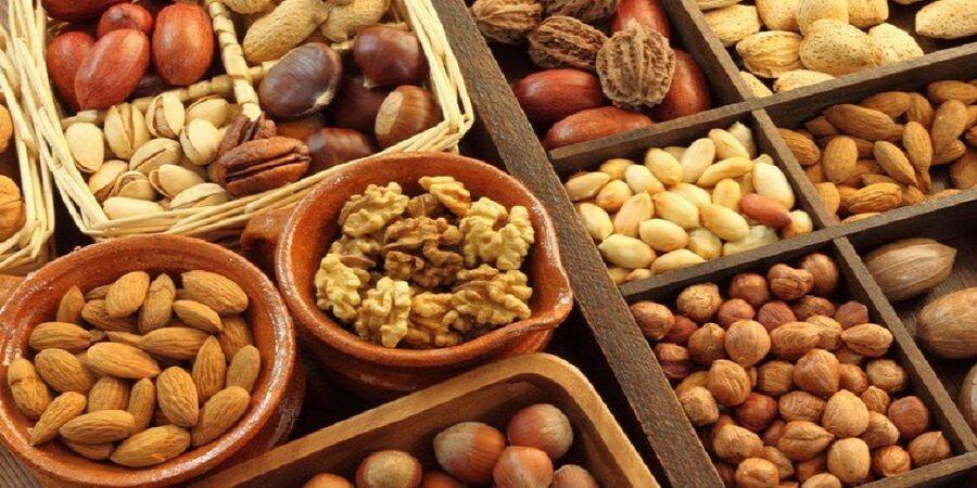 رژیم غذایی کبد چرب گرید ۲: آجیل