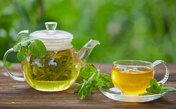 رژیم غذایی کبد چرب گرید ۲: چای سبز