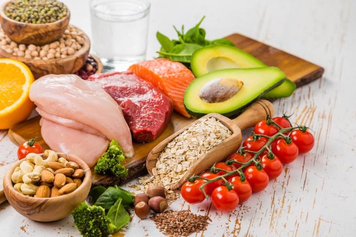 انواع مختلف رژیم غذایی