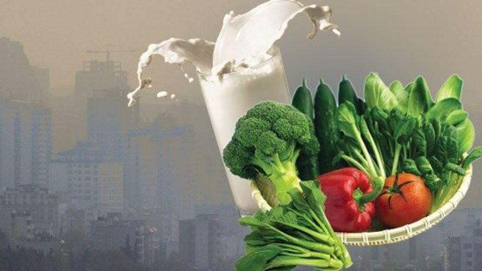 تاثیر آلودگی هوا و غذا بر یکدیگر چیست؟