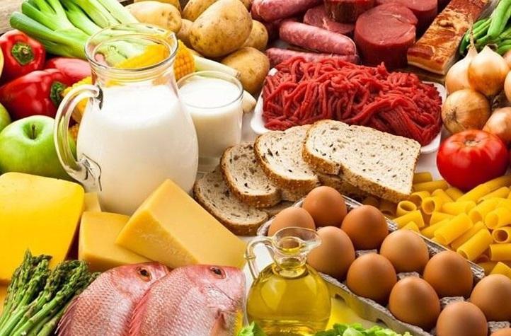 نمونه رژیم پروتئین و سبزیجات
