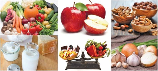 مواد غذایی مفید برای الودگی هوا
