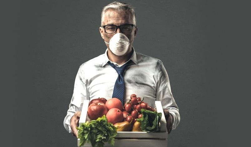 مواد غذایی مفید برای آلودگی هوا