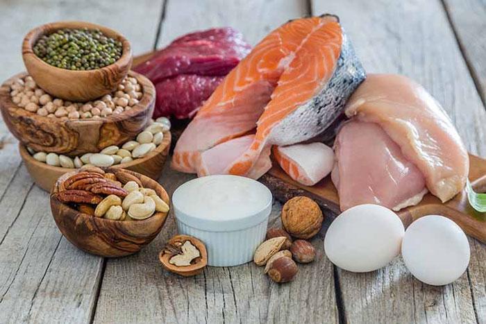 افزایش دادن میزان پروتئین در رژیم غذایی