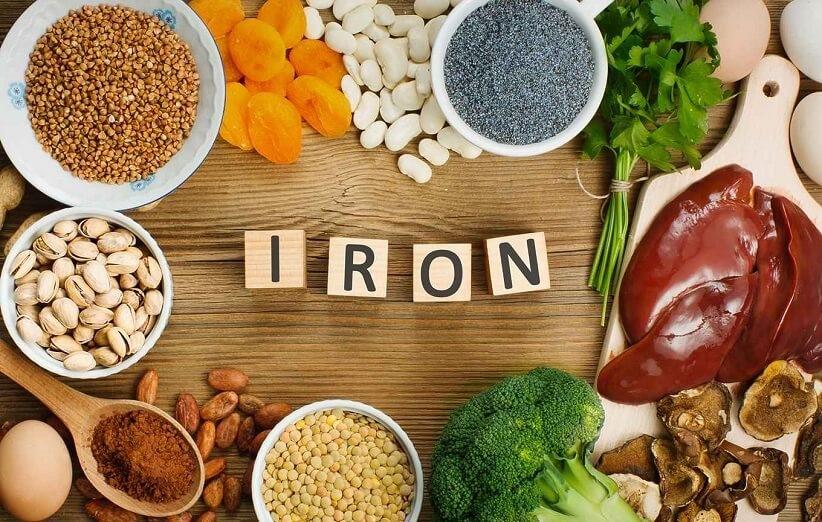 غذاهایی سرشار از سبزیجات و گوشت