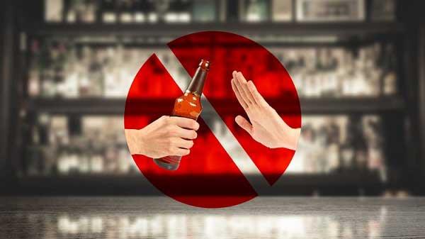 اجتناب کردن از مصرف الکل